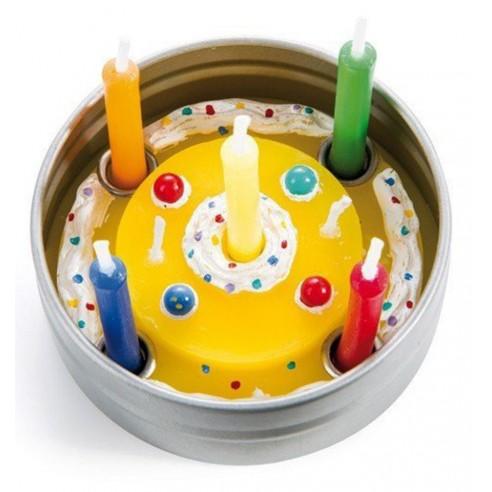 Caja Metálica Celebración Cumpleaños Portátil