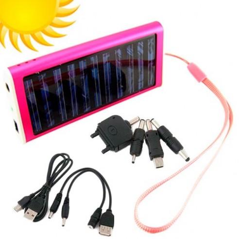 Cargador Solar de Baterías para Aparatos Electrónicos