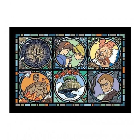 Puzzle El castillo en el cielo - Acrílico Art Crystal Laputa Letter