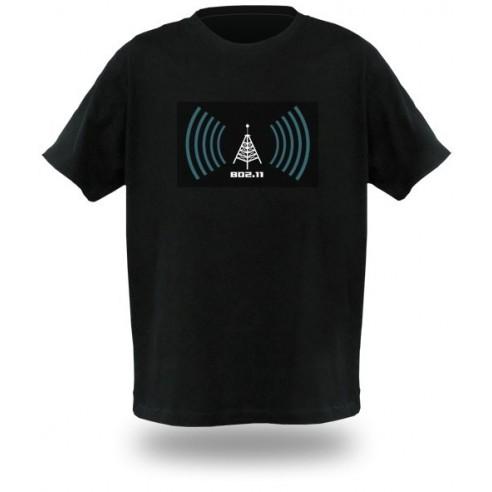 Camiseta LED Wifi