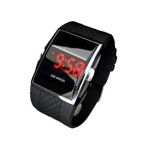 Reloj Digital Deportistas con LED Rojo