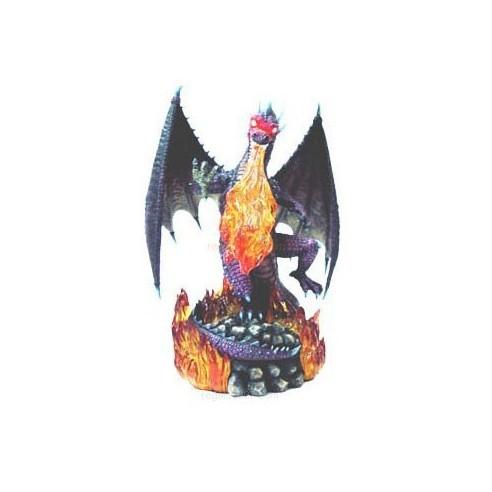 Dragón de Fuego (Ojos y Llamas con Luz)