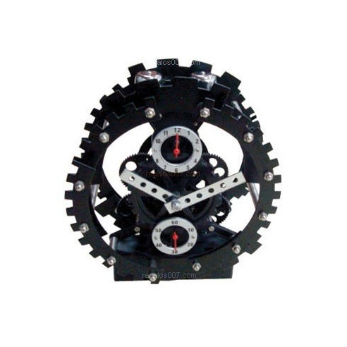 Reloj Retro con Diseño Maquinaria