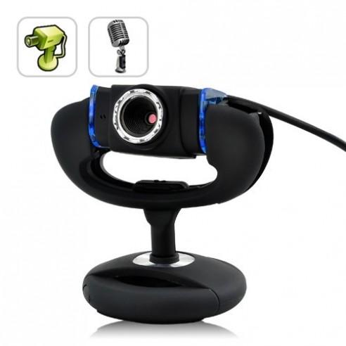 Cámara Web Ordenador 2MP con Micrófono