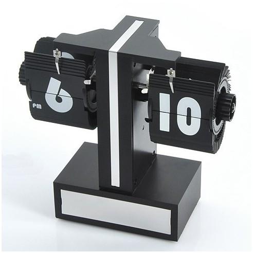 Mini Reloj Flip Retro