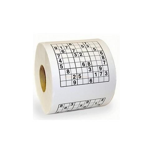 Rollo Papel Higiénico Sudoku