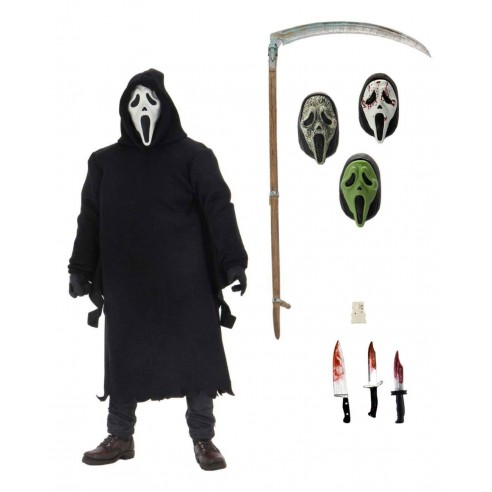 Figura Scream Ultimate Ghostface 18 cm