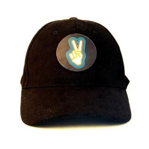 Gorra LED Sonido Modelo Victoria