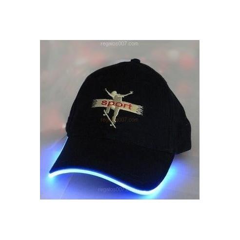 Gorra LED Modelo Banda Colores