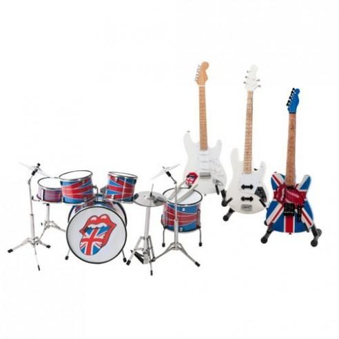 Réplica Instrumentos Musicales Banda Rolling Stones