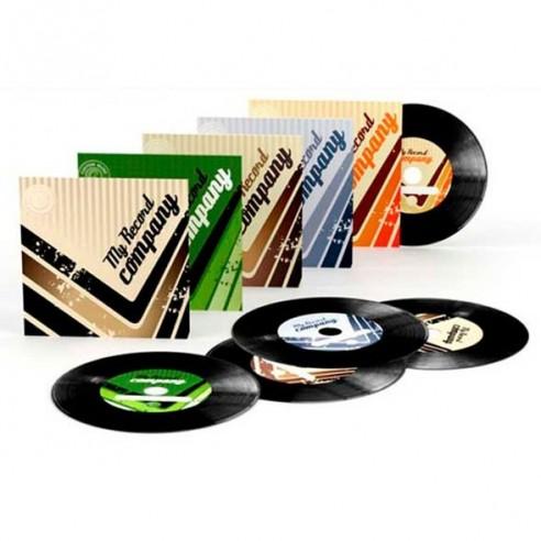 CD-R en Diseño de Vinilo (Pack 5 unidades)
