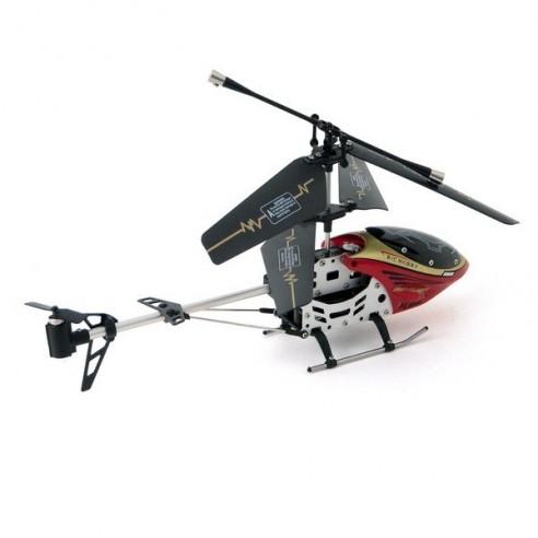 Helicóptero Radio Control 3 Canales Metal GYRO (rojo)