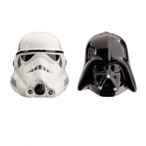 Salero y Pimentero Star Wars Darth Vader y Stormtrooper