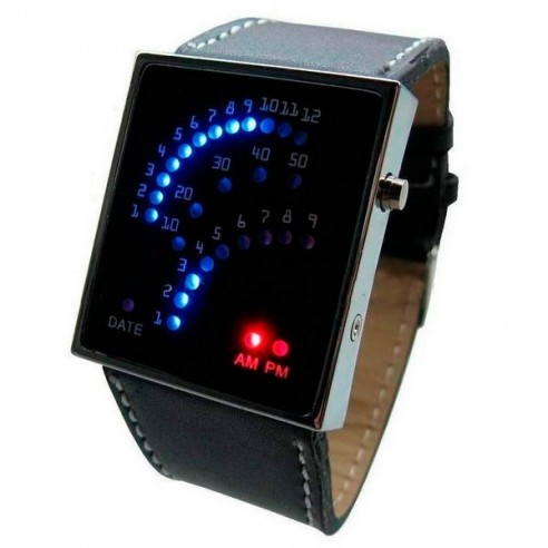 Reloj Led Diseño Racing con 29 Leds