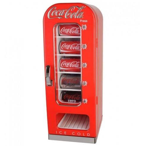 Nevera Dispensadora Latas Coca Cola Retro