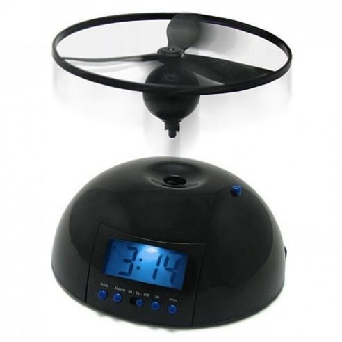 Reloj Despertador con Alarma Helicóptero Airwolf Volador