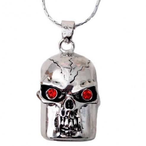 Colgante Joya USB 4GB Calavera Terminator