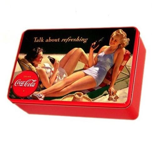Caja Metálica Coca Cola
