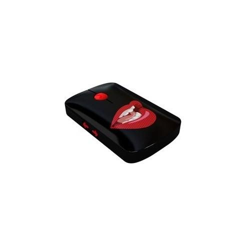 Ratón Ordenador Labios Rojos