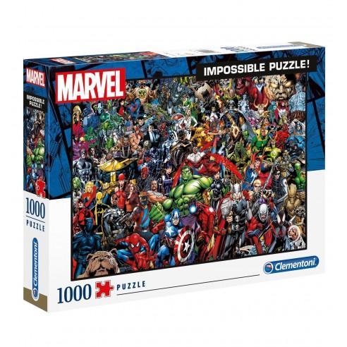 Puzzle Marvel 80 Aniversario Superhéroes 1.000 piezas