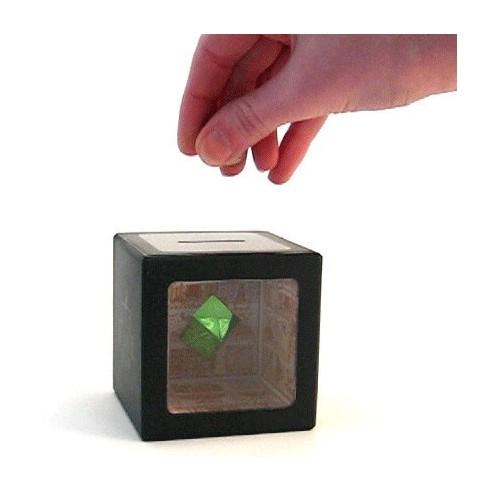 Hucha Mágica Cubo Ilusión Óptica