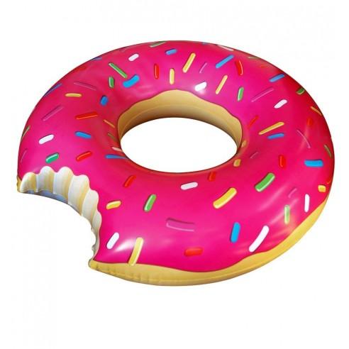 Flotador Hinchable Gigante Donut Rosa