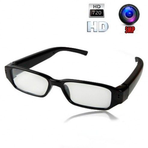 Gafas Espía Profesionales Alta Definición Diseño Slim Micro SD