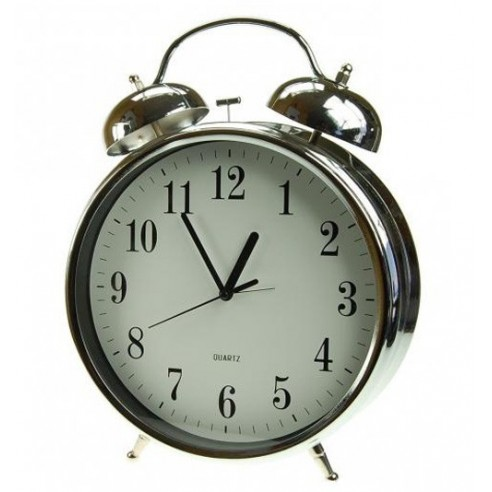 Reloj Despertador Campana Gigante