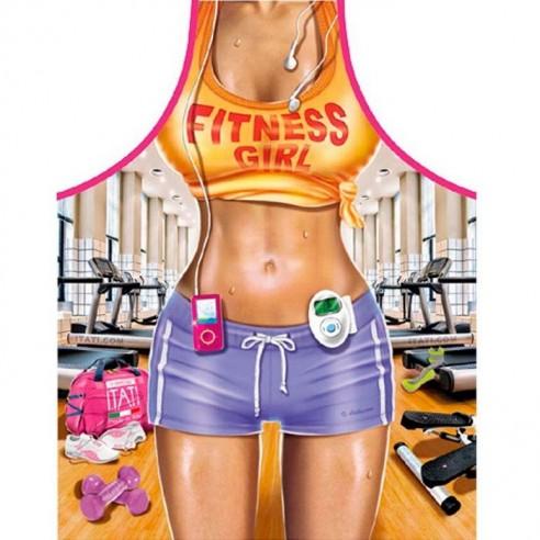 Delantal Sexy Chicha Fitnes
