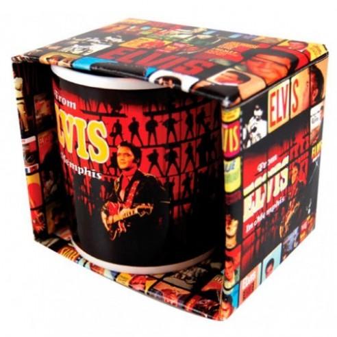 Taza Original de Colección Elvis Menphis