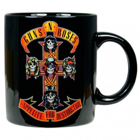 Taza Original de Colección Guns N Roses Appetite