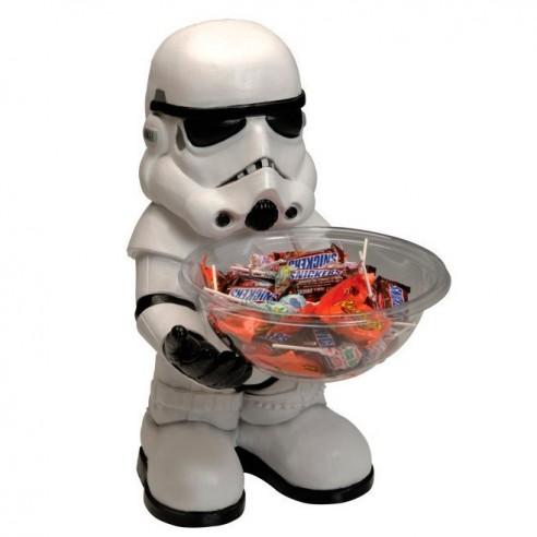 Figura Stormtrooper con Bandeja para Dulces