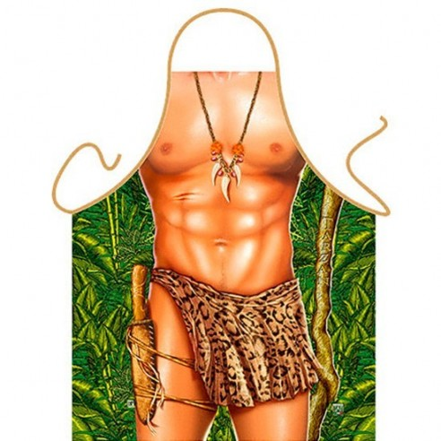 Delantal Sexy Tarzan