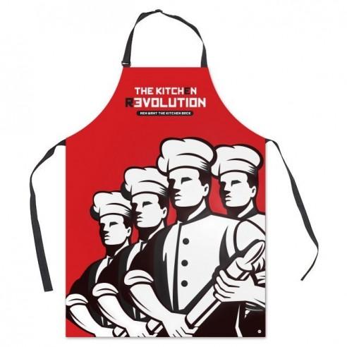 Delantal Original La Revolución en la Cocina