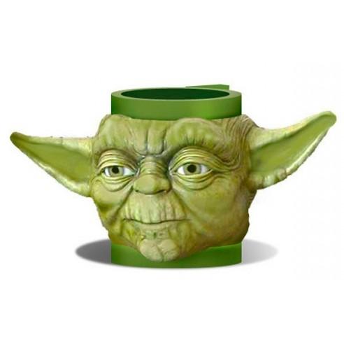 Taza 3D Star Wars Maestro Yoda