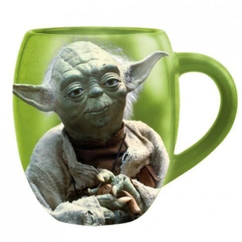 Taza Porcelana Star Wars Maestro Yoda