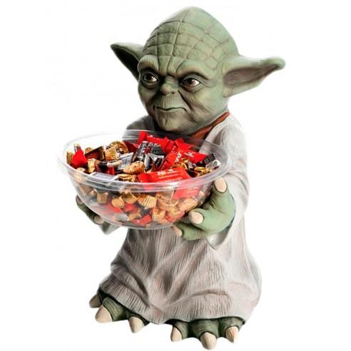 Figura Maestro Yoda con Bandeja para Dulces