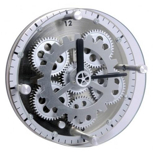 Reloj Sobremesa Engranajes