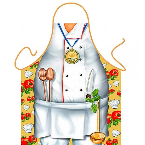 Delantal Sexy Master Chef