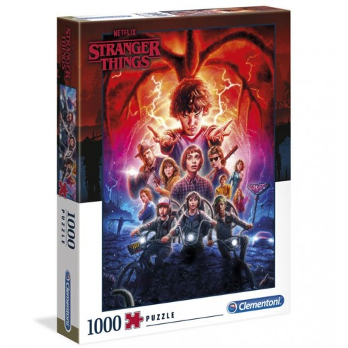 Puzzle Stranger Things 2 Mind Flyer 1.000 piezas
