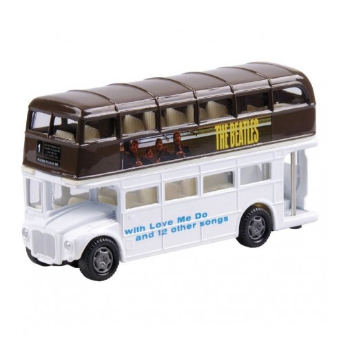 Bus The Beatles Portada Please Please Me
