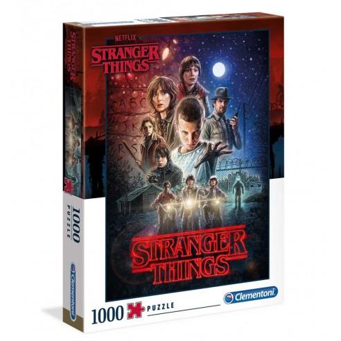 Puzzle Stranger Things Temporada Primera 1.000 piezas