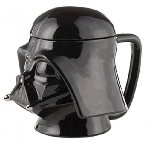 Taza Cerámica 3D Darth Vader