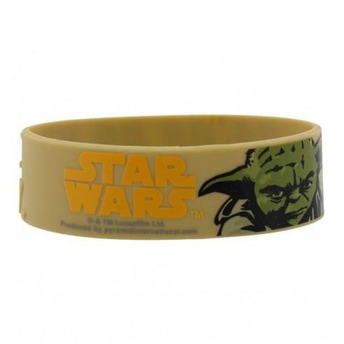 Pulsera de Caucho Star Wars Yoda