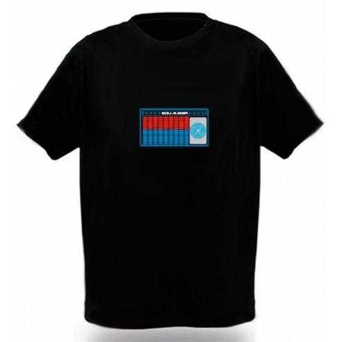 Camiseta Led Mesa Mezclas