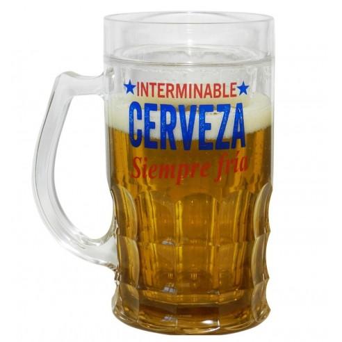 Jarra de Cerveza Fría e Interminable
