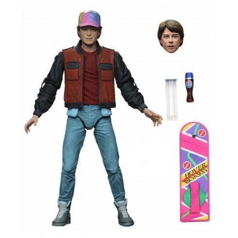 Figura Regreso al Futuro 2 Marty McFly 18 cm