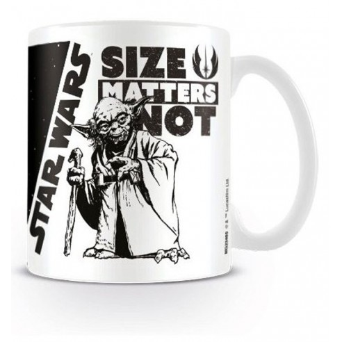 Taza Star Wars Taza Size Matters Not