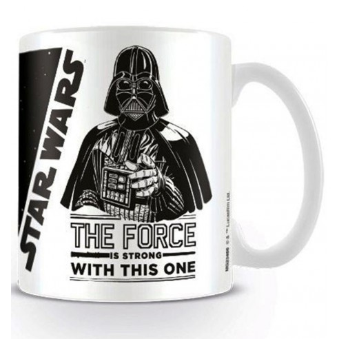 Star Wars Taza Darth Vader The Force Is Strong with This One