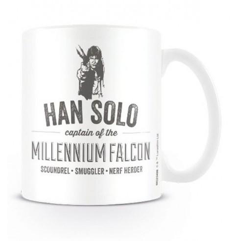 Star Wars Taza Han Solo
